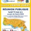 Réunion publique au Parc du Cannet
