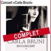 Carla Bruni en concert à Bandol