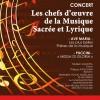 Aujourd'hui, concert église de Bandol