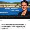 Déclaration de presse de Floriane Cercio
