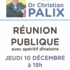 Réunion publique avec Christian Palix