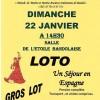 Loto de l'AMMAC. 14h30 salle de l'Étoile Bandolaise.