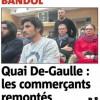 Quai de Gaulle, les commerçants remontés!