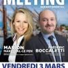 MEETING DÉPARTEMENTAL Élections Présidentielles 2017