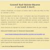 Le Conseil de la Communauté Sud Saint-Baume