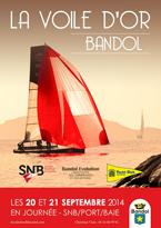 La voile d'or de Bandol